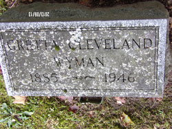 Gretta M. <i>Cleveland</i> Wyman
