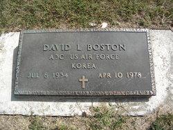 David L Boston