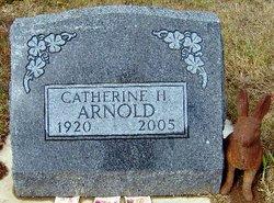 Catherine H <i>Lee</i> Arnold