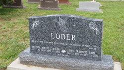 Rev Frederic Earl Loder