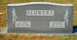 Alice Gertrude <i>Rodden</i> Flowers