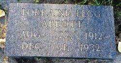 Lorraine <i>Legg</i> Abbott