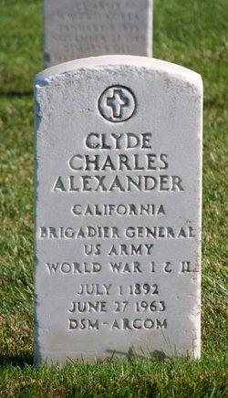 Clyde Charles Alexander