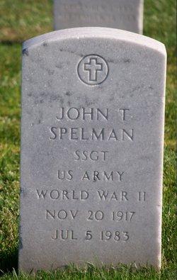 John T Spelman