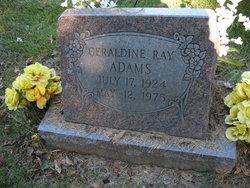 Geraldine <i>Ray</i> Adams