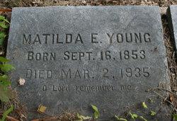 Matilda Elizabeth <i>Lawson</i> Young