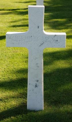 Pvt James Henry Barnett