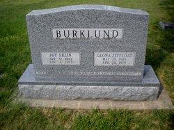 Leona <i>Jeffcoat</i> Burklund