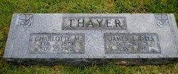 Charotte M. Lottie <i>Jessop</i> Thayer