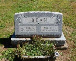 Millie H <i>Tanner</i> Bean