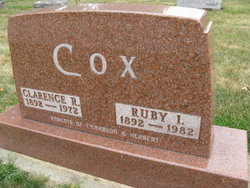 Ruby Isabell <i>Boone</i> Cox