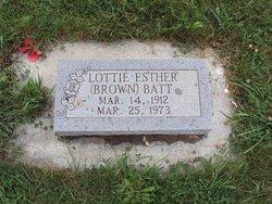Lottie Esther <i>Brown</i> Batt