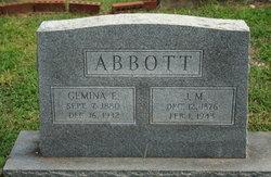 J M Abbott