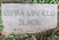 Elvira Ann <i>Winfield</i> Slack