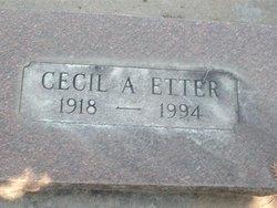 Cecil A Etter