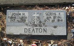 Audie Frances Deaton