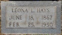 Leona Lowden <i>Fortney</i> Hays