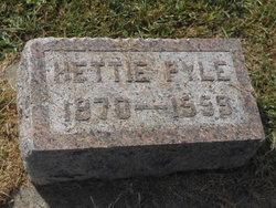 Hettie Dorcus <i>Malone</i> Pyle