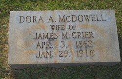 Dora Ashlyn <i>McDowell</i> Grier
