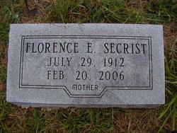 Florence E. <i>Jones</i> Secrist