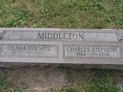Clara Margaret <i>Holmes</i> Middleton