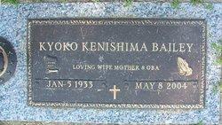 Kyoko <i>Kenishima</i> Bailey