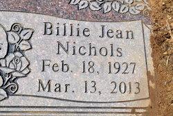 Billie Jean <i>Nichols</i> Dumas