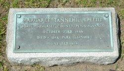 Margaret <i>Tannehill</i> Pettit