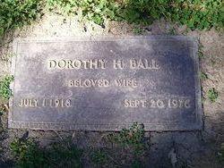 Dorothy H Ball