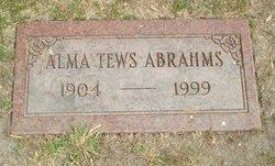 Alma Augusta <i>Tews</i> Abrahms
