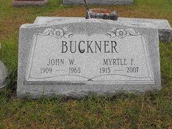Myrtle F. <i>Emerson</i> Buckner - Arlington