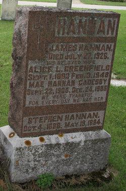 Mae <i>Hannan</i> Cadesby