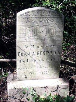 Rev John A. Brown