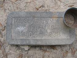Alice Alley <i>Oglesby</i> Franks