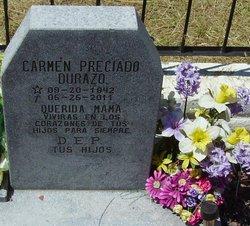 Carmen Maria <i>Preciado</i> Durazo