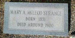 Mary <i>McLeod</i> Strange