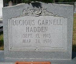 Lucious Garnell Hadden