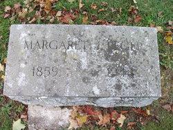 Margaret T <i>Janney</i> Reger