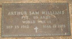 Pvt Arthur Williams