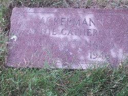 Annie Catherine <i>Board</i> Ackermann