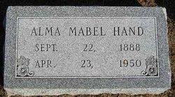 Alma Mabel <i>Sherman</i> Hand