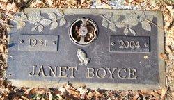 Janet Boyce
