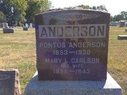 Mary L. <i>Carlson</i> Anderson