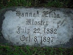 Johanna Elida Hannah Kloster