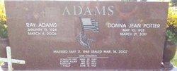 Donna <i>Potter</i> Adams
