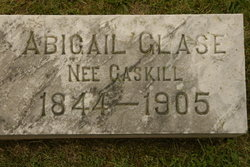 Abbie G <i>Gaskill</i> Glace