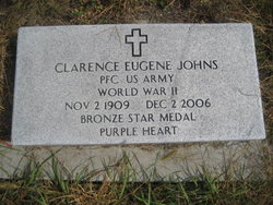 PFC Clarence Eugene Johns