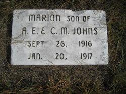 Marion Arthur Johns