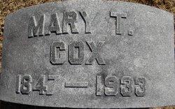 Mary T. <i>Harris</i> Cox
