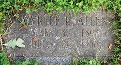 Myrtle <i>Ratcliff</i> Allen